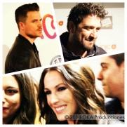 Collage Dani, Malú y Orozco